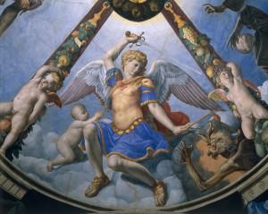 A.Bronzino, Archangel Michael