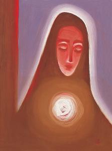 """""""Дева Мария"""" худ.: Ладислав Заборски"""