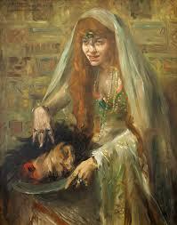 Дочь Иродиады с головой Иоанна